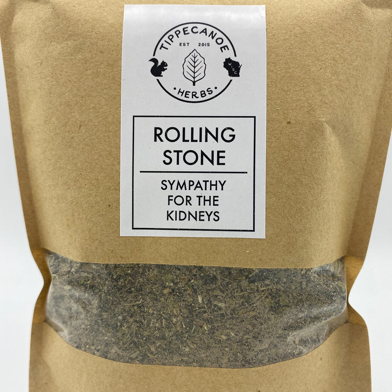 Rolling Stone - Sympathy for the Kidneys Tea - Tippecanoe Herbs Herbalist Milwaukee