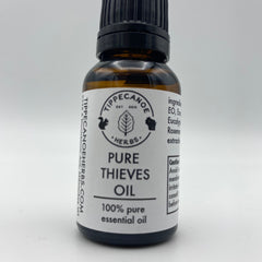 Thieves Blend Essential Oil - Tippecanoe Herbs Herbalist Milwaukee