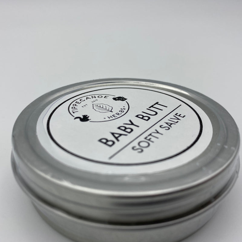 Salve - Baby Butt Softy Salve - Tippecanoe Herbs Herbalist Milwaukee