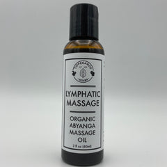 Massage Oil -  Lymphatic Abyanga Massage - Tippecanoe Herbs Herbalist Milwaukee