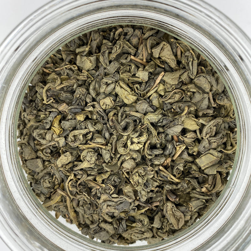 Tea - Gunpowder Green - Tippecanoe Herbs Herbalist Milwaukee