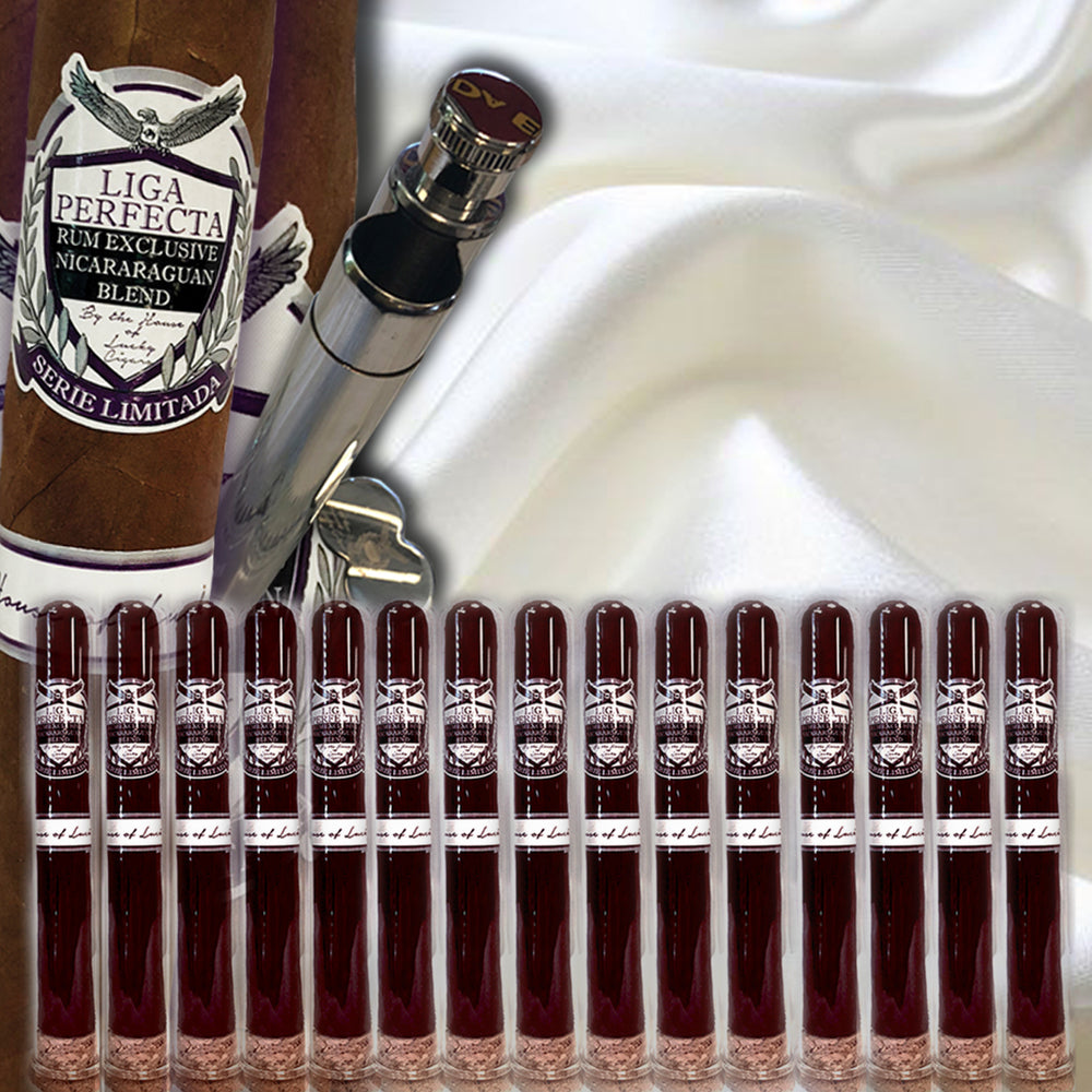 Infused Cigars: 15 Liga Perfecta Maduro Double Grande 7.5X50