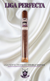 Infused Cigars: Liga Perfecta Habano Double Grande 7x50 Tube