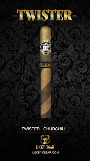 TWISTER CHURCHILL 7X48 SINGLE CIGAR