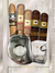 Cigar Lifestyle Accessories: Lucky whiskey glass,Lucky eye Cutter + 5 Cigars