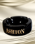 Cigar Lifestyle Accessories: Round Black Ashton Ashtray