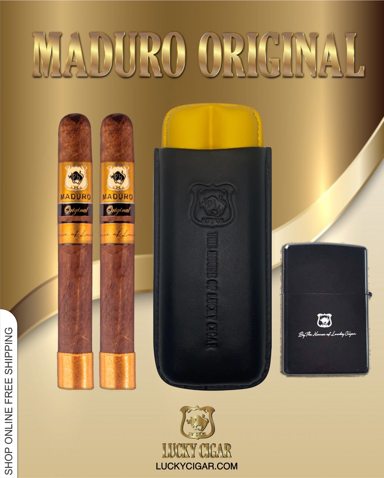 The Churchill Maduro original set includes: