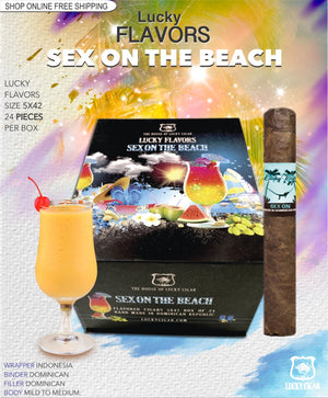 Flavored Cigars: Lucky Flavors Sex On The Beach 5X42 Box