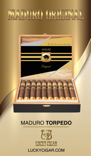 Maduro Cigars: Maduro Original Torpedo 6x52 Box of 20