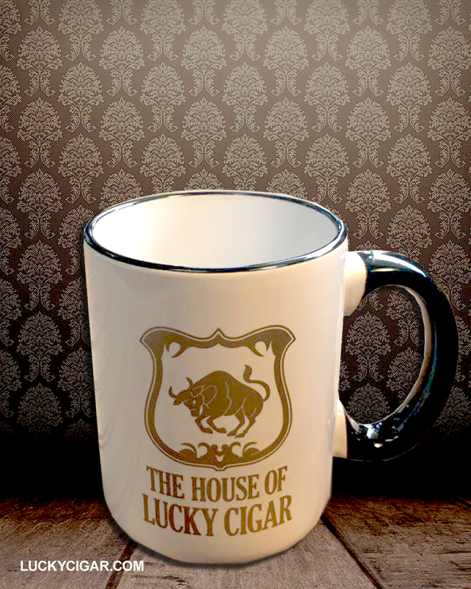 The House Of Lucky Cigar Mug