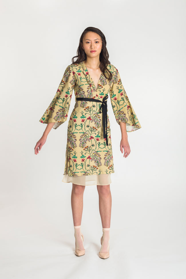 Suki Dress -  Sweet Pea Blossom - Fireflies for Lanterns