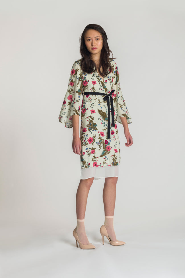 Suki Dress - Pink Blossoms - Fireflies for Lanterns