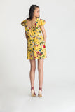 Blair Dress - Yellow Orchids - Fireflies for Lanterns