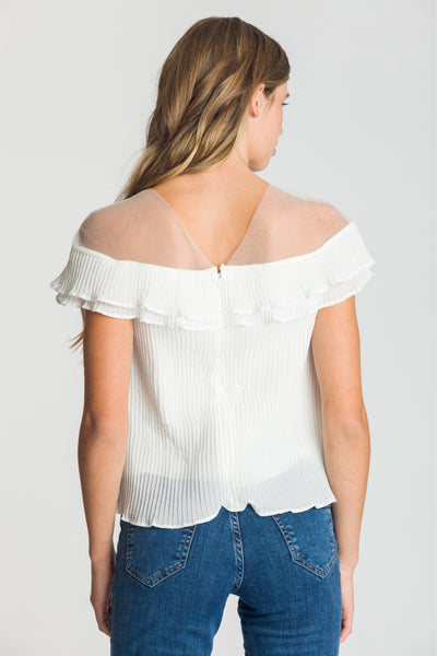 Chloé Blouse - Pleated - Fireflies for Lanterns