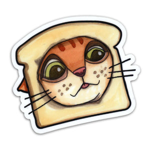 Bread Cat Sticker