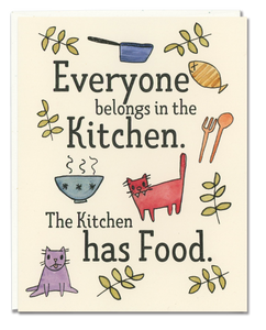 Everyone Belongs in the Kitchen card