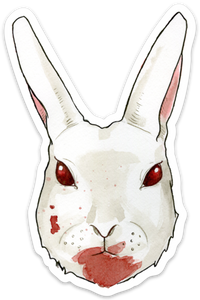 Killer Rabbit Sticker