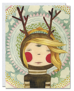 Earth Girl card