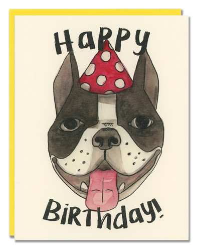 Happy Birthday, Frenchie! card