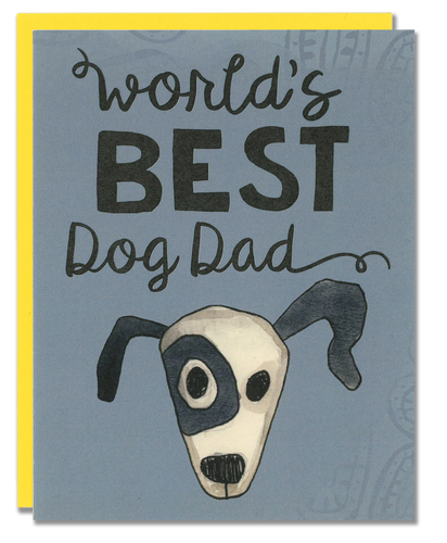 World's Best Dog Dad card
