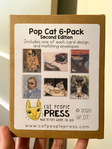 Pop Cat 6-Pack Second Edition