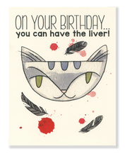 Happy Birthday! Liver card