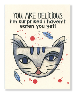 You Are Delicious card