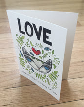 Jungle Cat Love card