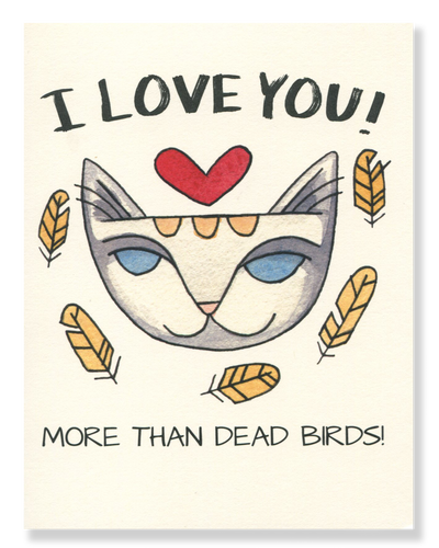 I Love You! card