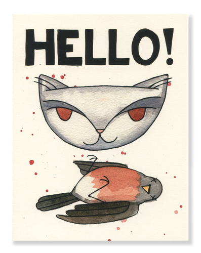 Hello! Robin card