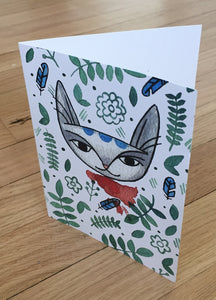 Jungle Cat card