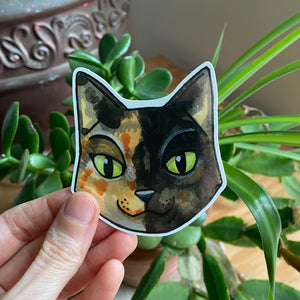 Chimera Cat Sticker