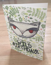 Jungle Cat, Wild Birthday card