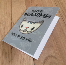 You're Awesome! card