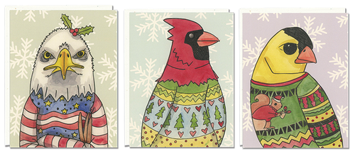 Birds in Ugly Sweaters 6-pack