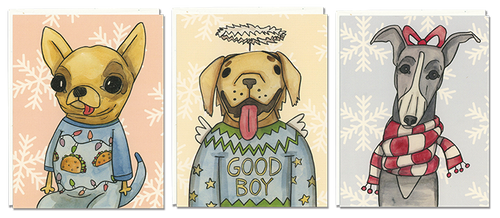 Holiday Dogs 6-pack
