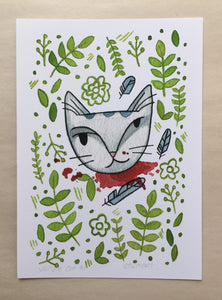 Jungle Cat 1 Print 5x7
