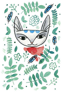 Jungle Cat 2 Print 5x7