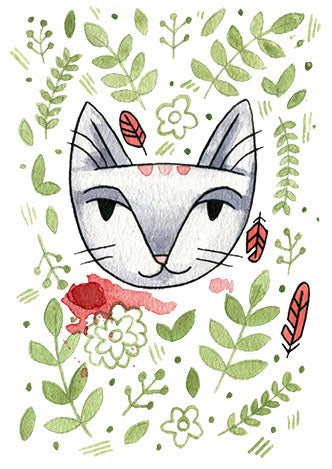 Jungle Cat 3 Print 5x7