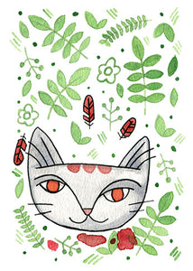 Jungle Cat 4 Print 5x7