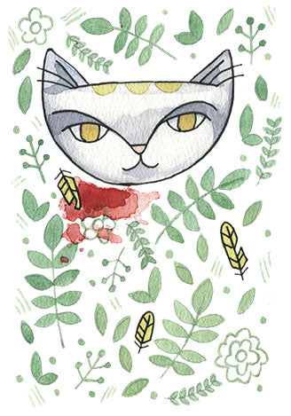 Jungle Cat 6 Print 5x7