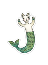 Purrmaid Sticker 5""