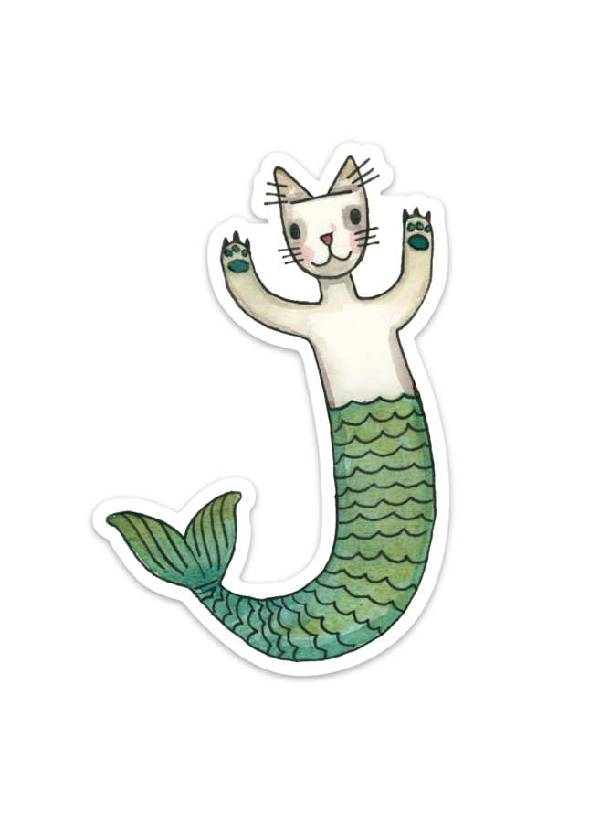Purrmaid Sticker 5