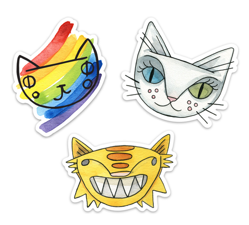 3 for $5 Stickers!