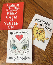 Neutered is Cuter card