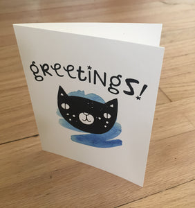Greetings! card