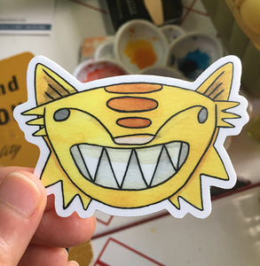 Tiger Cat Sticker