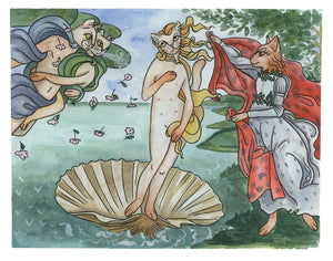 Birth of Venus Print 11x14