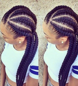 6 Feed-In Braids