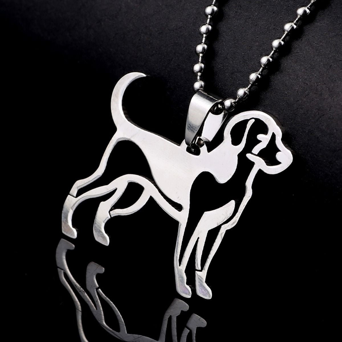 American English Welsh Dumfriessh Fox Hound Foxhound Dog Pet Tag Charm Pendant
